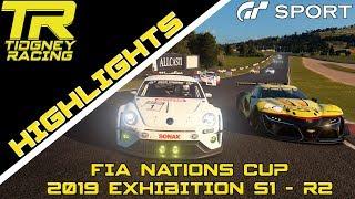 [GT Sport Highlights] - Gr.3 @ Bathurst    FIA Nations Cup 2019 Exhibition S1 R2