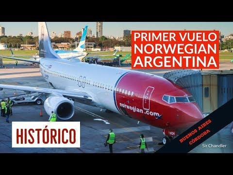 Histórico primer vuelo de Norwegian Argentina