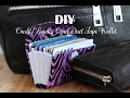 DIY Credit Loyalty Card Duct Tape Wallet