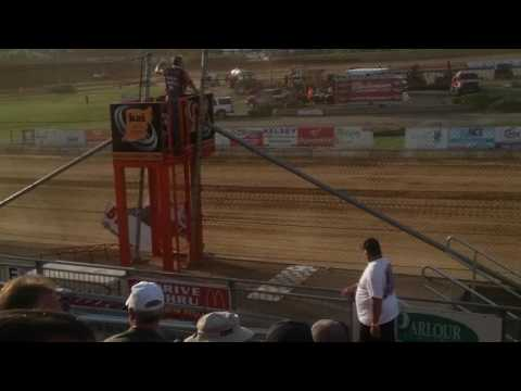 World of Outlaws Heat 1 Lawrenceburg Speedway