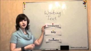 Письмо (ЗНО, англійська): Структура тексту, відео урок