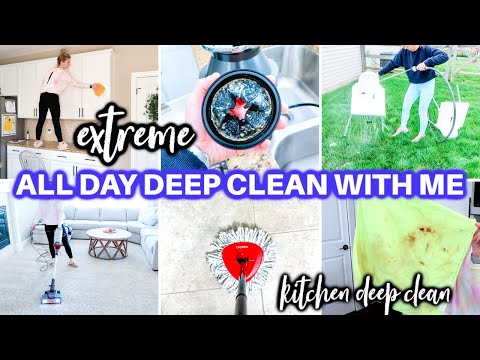 *EXTREME* CLEAN WITH ME 2021 | ALL DAY SPEED CLEANING MOTIVATION | CLEANING ROUTINE | DECLUTTER - Jamie's Journey