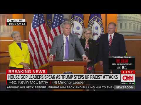 Kevin McCarthy condemns House vote on Trump's 'go back' comments: 'This is about politics'