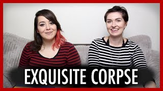 Playing Exquisite Corpse with Charlie (magicianbelle) [1/5]