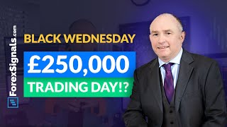 £250,000 in a DAY!? The CRASH of the Pound and The Trade to Rio...