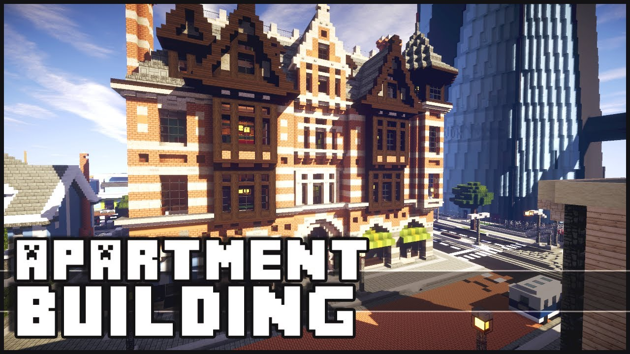 Minecraft Epic Apartment Building Youtube