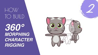 Moho tutorial 02: 360° morphing character rigging- Part 2: Advance