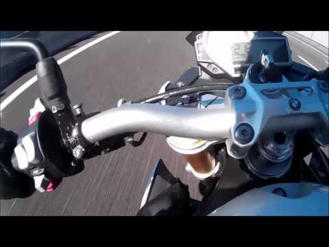 BMW S1000R Top Speed 265 km/h - YouTube