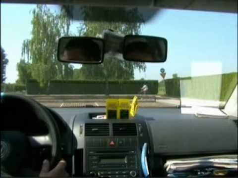 Autoškola - primjer vožnje
