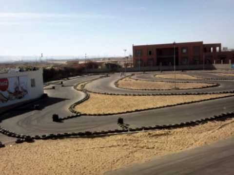 Khaled EMAM WADI Karting Egypt speed challenge