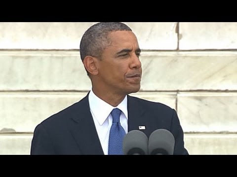 President Obama: Economic Opportunity Is 2nd Dimension of MLK's Dream