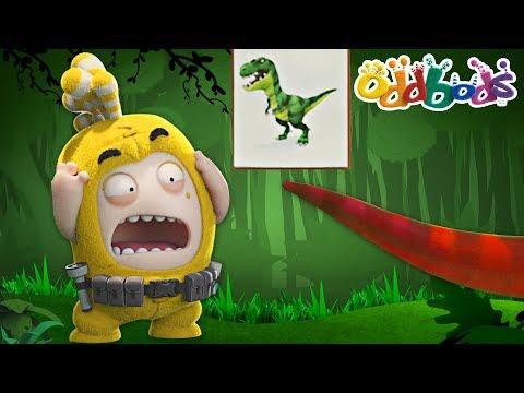 Oddbods | Jurassic Dinosaur Park | NEW | Funny Cartoons For Kids