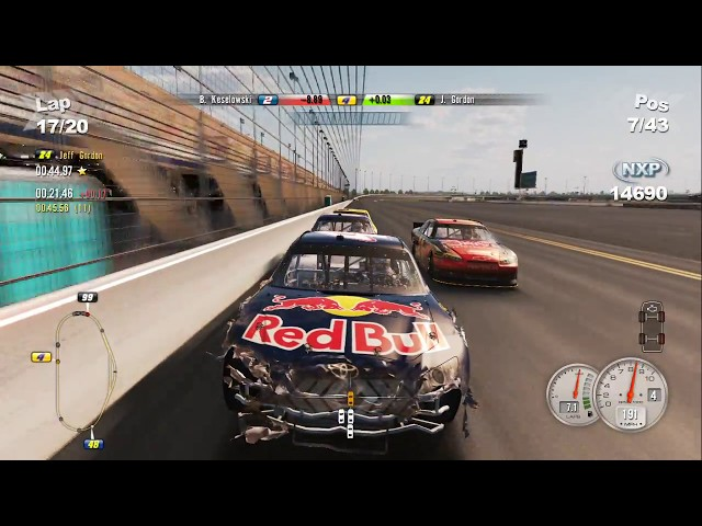 NASCAR The Game 2011: Career ~ Race 1 (Daytona 500)