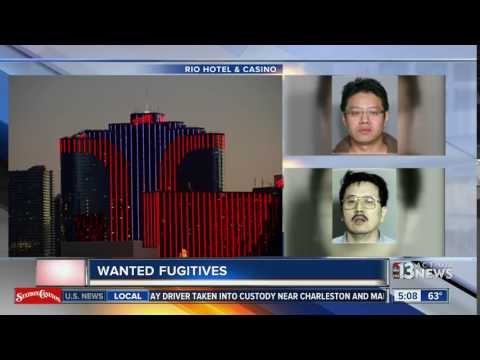 2 wanted in connection with Rio hotel-casino robbery