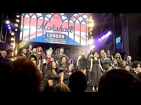 London Calling - The Clash Cover By The London Community Gospel Choir With Mick Jones