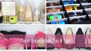♥ Closet Organization Tips & Tour | Rachel Talbott ♥