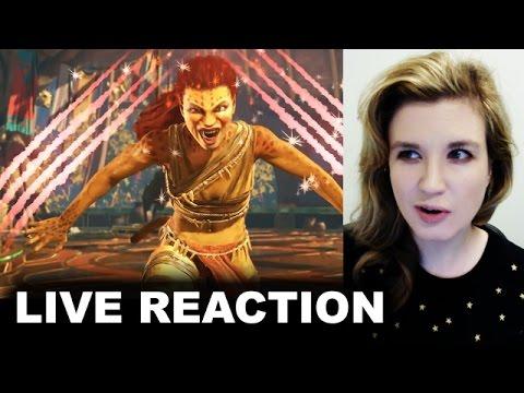 Injustice 2 Cheetah Gameplay Trailer REACTION