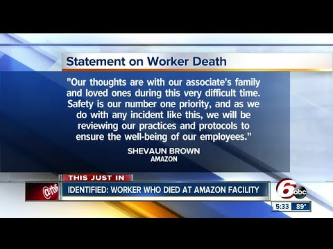 Amazon employee killed in forklift accident at Plainfield facility identified