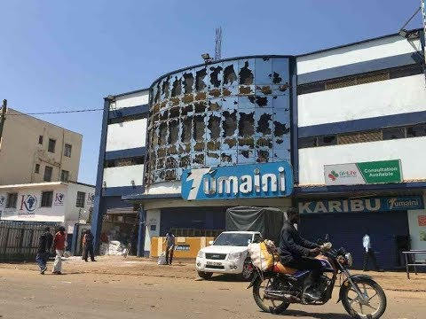 NASA demonstrators in Kisumu loot supermarkets and restaurants