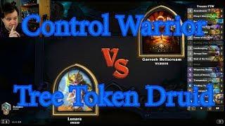 Tree Token Druid vs Control Warrior | Hearthstone