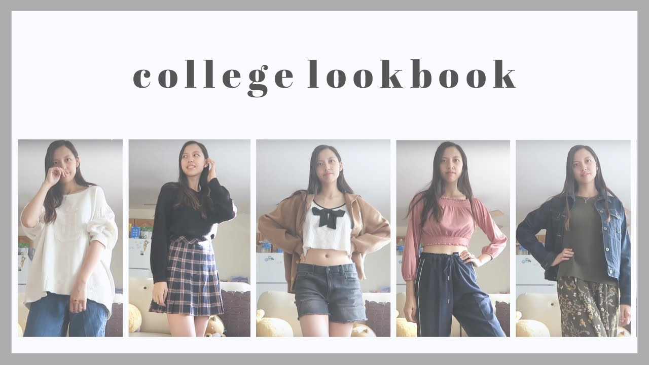 [VIDEO] - College Outfits of the Week Fall to Winter | student fashion lookbook for chilly weather | Love Ara 1