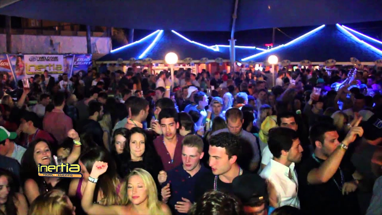 Inertia Tours Spring Break Mardi Gras party at Tequila ...