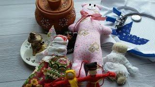 Вышивальная неделя 2-9 сентября. Вышивка/Наш кот/Обережные куклы