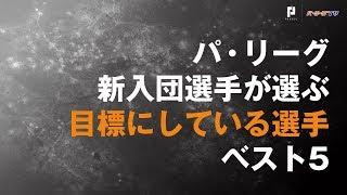 【ルーキーが選ぶベスト5】対戦したいパ・リーグの選手 2019/1/11パ・リ...