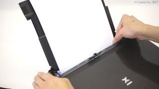 Завантаження паперу: задній лоток (серія TS6100)