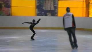 тренировка сентябрь 2010 Полина 2002г (занимается 1,6 года)