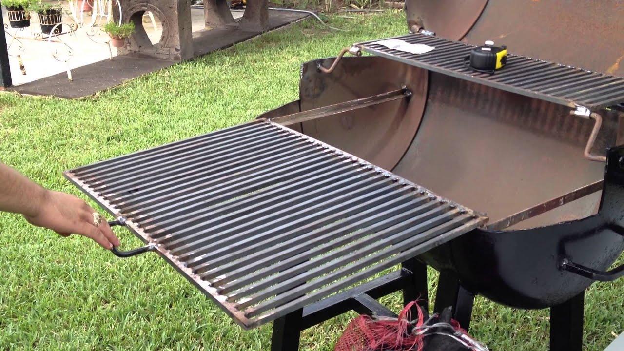 Asador negro en venta carbon y mesa youtube - Como hacer un asador ...