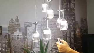 Люстра светодиодная с пультом(Больше информации о наших светильниках на сайте http://ginto.ru/, 2015-08-18T14:14:23.000Z)