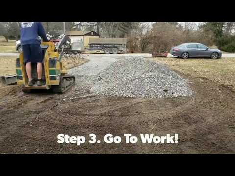 Gravel Driveway Repair- How To!