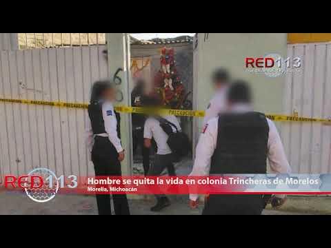 VIDEO Hombre se quita la vida en colonia Trincheras de Morelos