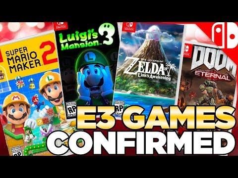 Nintendo Games Confirmed for E3 2019