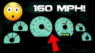 How long does it take a 700HP TVS Cobra to get to 160 MPH??