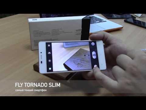 обзор Fly Tornado Slim   смартфон толщиной 5.1 мм   самый тонкий в мире