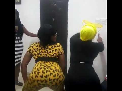 Nollywood Actresses Twerking At Eniola Badmus Birthday Party [Watch Video]