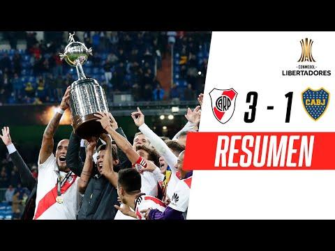 River Plate 3-1 Boca Juniors   RESUMEN HIGHLIGHTS   Final (VUELTA)   CONMEBOL Libertadores