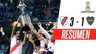 River Plate 3-1 Boca Juniors | RESUMEN HIGHLIGHTS | Final (VUELTA) | CONMEBOL Libertadores