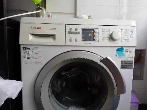 bosch avantixx washing machine manual