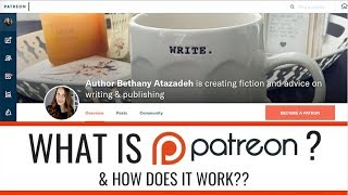 WHAT IS PATREON? SHOULD WRITERS USE IT? + 3 SURPRISE ANNOUNCEMENTS! thumbnail