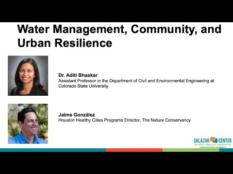 Connecting for Conservation: Water Management, Community, and Urban Resilience