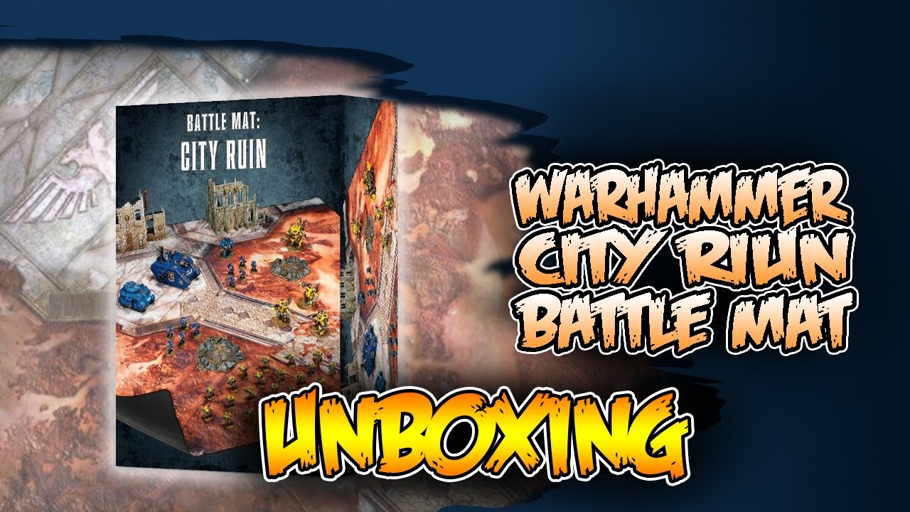 is it worth it battle mat city ruin review youtube