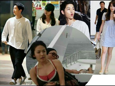 Breaking News!!  Song Joong ki ❤Song Hye Kyo 🌹 ...Do you go to vacation????