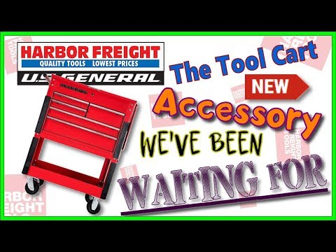 Harbor Freight 5 Drawer Cart Accessory We've Waited for