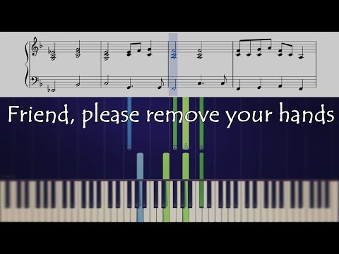 How to play Friend Please on piano no 5 in my self-titled series
