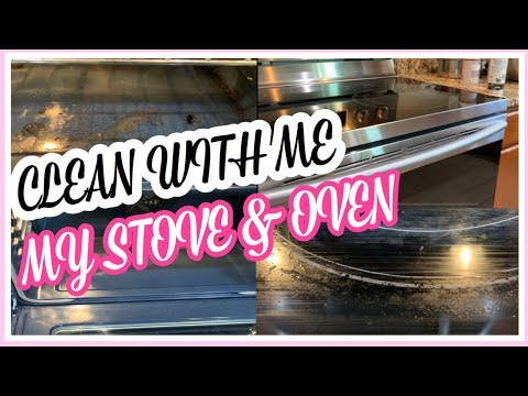 HOW TO DEEP CLEAN STOVE & OVEN
