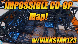THE IMPOSSIBLE CO-OP PUZZLE MAP WITH VIKKSTAR123! Fortnite Creative Builds!