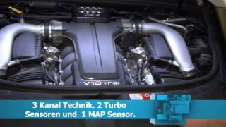 Chiptuning Einbauvideo: Audi RS6 5.0l V10 TFSI Bi-Turbo 580PS